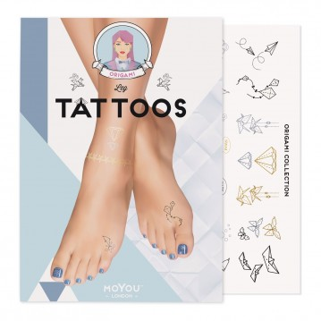 Tatuaż tymczasowy na stopy...