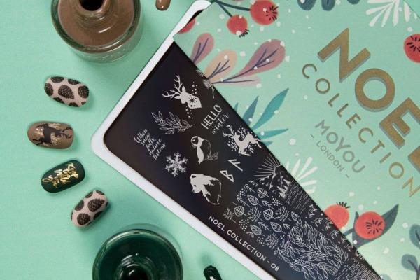 Nowe świąteczne płytki i pomysły na zimowe zdobienia paznokci