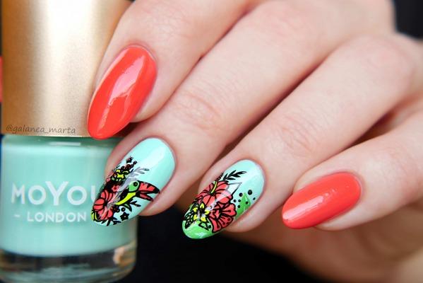 Stylizacja paznokci na lato